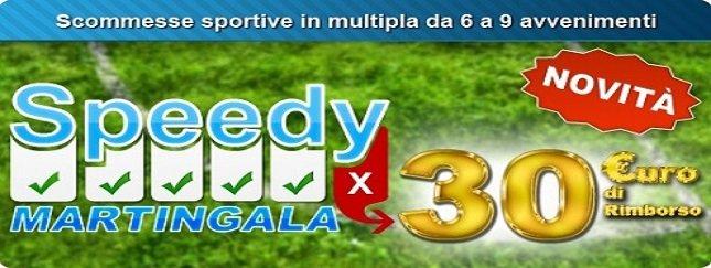 Promozione Speedy Martingala
