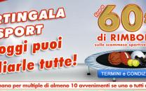 "Promozione BetFlag "" Martingala Sport"" 60 € di BONUS"