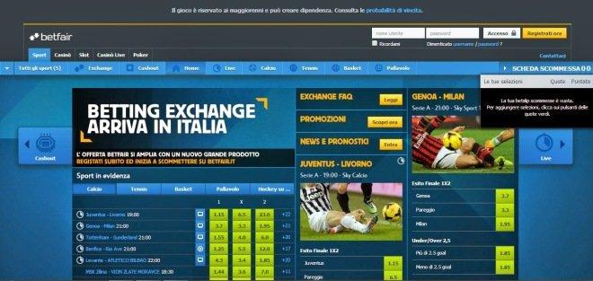 come funziona il betting exchange