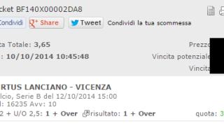Combobet Serie B 12-10-2014