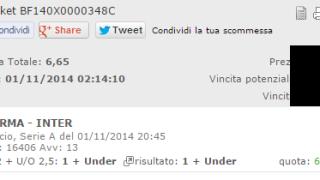 Combobet Vincente Parma-Inter 01-11-2014