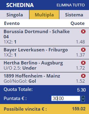 Scommesse Bundesliga