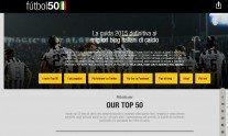 I 50 migliori siti di calcio, la classifica di Futbol50