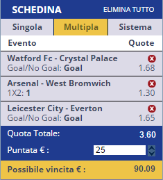 scommesse pronte Premier League 2016-12-26