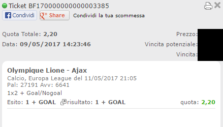 combo lione-ajax vincente
