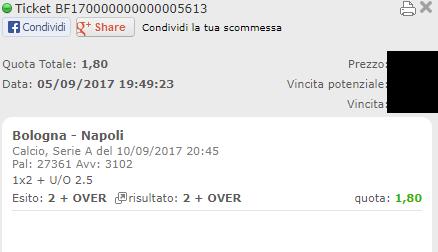 combo vincente bologna-napoli