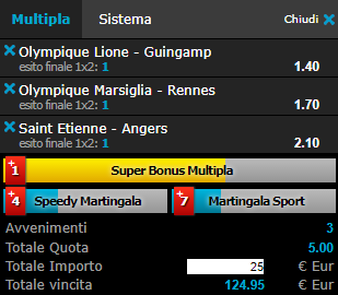 scommesse pronte Ligue 1 2017-09-09