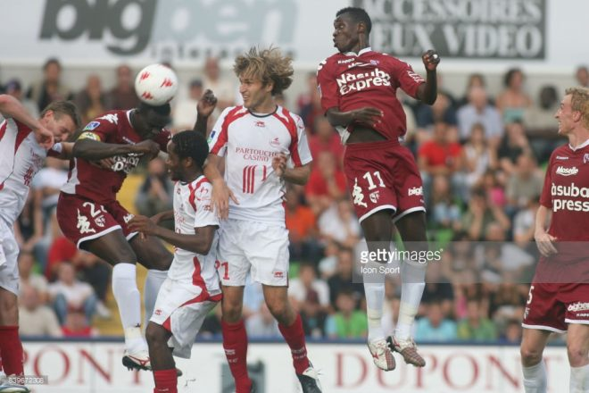 Babacar GUEYE  - 12.08.2007 - Metz / Lille - 2eme journee de Ligue 1 Photo : Olivier Andrivon / Icon Sport