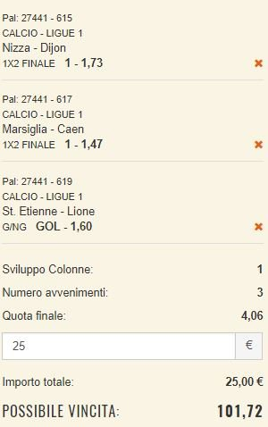 scommesse pronte Ligue 1 2017-11-04