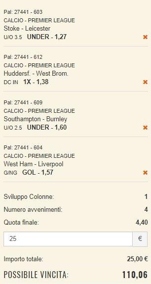 scommesse pronte Premier League 2017-11-04