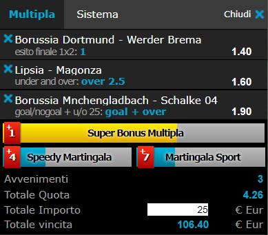 scommesse pronte Bundesliga 2017-12-09