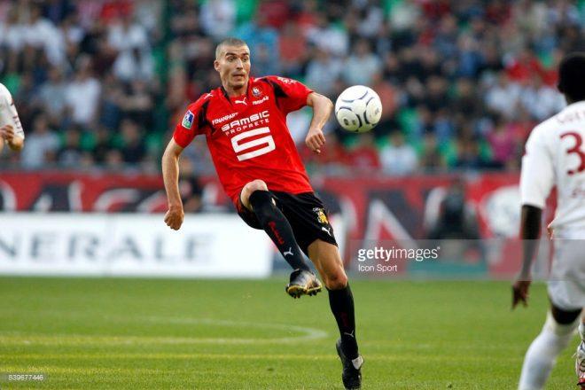 Jerome LEROY - 25.08.2007 - Rennes / Metz - 5eme journee de Ligue 1  Photo : Thomas Bregardis / Icon  Sport