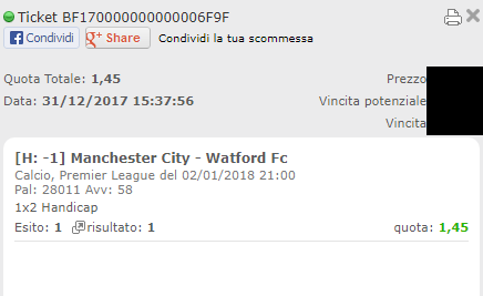 combo vincente manchester city-watford