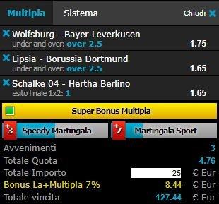 scommesse pronte Bundesliga 2018-03-03