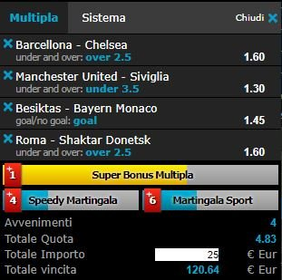 scommesse pronte Champions League 2018-03-13