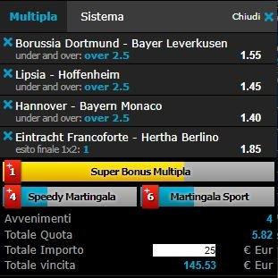 scommesse pronte Bundesliga 2018-04-21