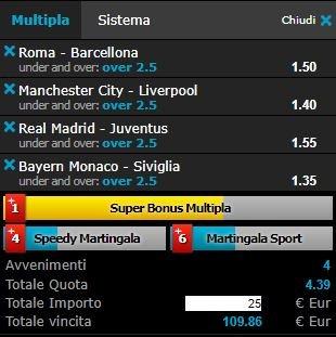 scommesse pronte Champions League 2018-04-10