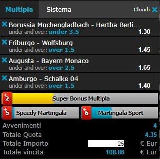 scommesse pronte Bundesliga 2018-04-07