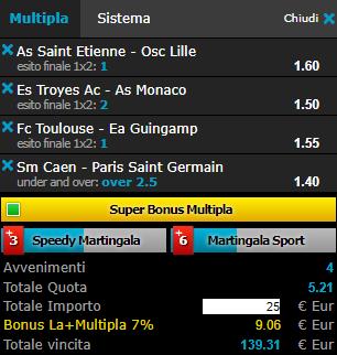scommesse pronte Ligue 1 2018-05-19