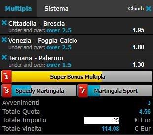 scommesse pronte Serie b 2018-05-05