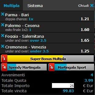 scommesse pronte Serie b 2018-05-12