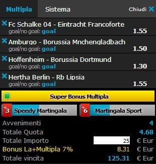 scommesse pronte Bundesliga 2018-05-12