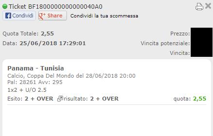 combo vincente panama-tunisia
