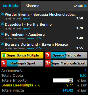scommesse pronte Bundesliga 2018-11-11