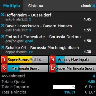 scommesse pronte Bundesliga 2019-02-02