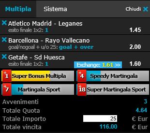 scommesse pronte Liga 2019-03-09