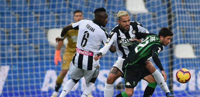 Pronostico Udinese-Sassuolo 20-04-19