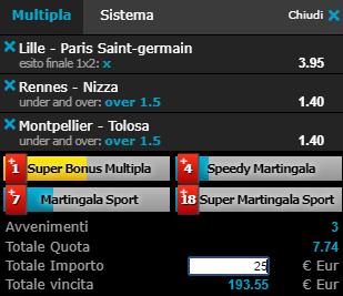 scommesse pronte Ligue 1 2019-04-13