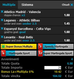 scommesse pronte Liga 2019-04-24