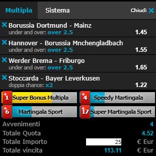 scommesse pronte Bundesliga 2019-04-13