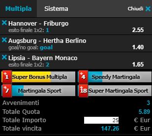 scommesse pronte Bundesliga 2019-05-11