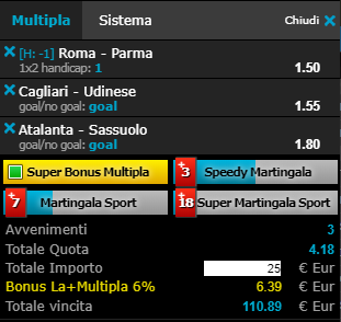 scommesse pronte Serie a 2019-05-26