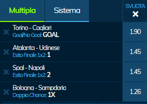 scommesse pronte Serie a 2019-10-27