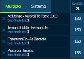 scommesse pronte Serie a