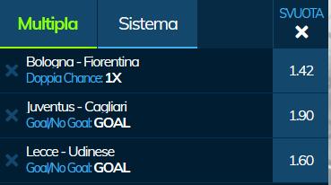scommesse pronte Serie a 2019-01-06