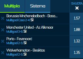 scommesse pronte Europa League 2019-12-12