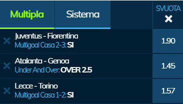 scommesse pronte Serie a 2020-02-02