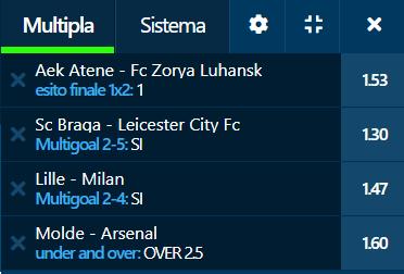 scommesse pronte Europa League 2020-11-26