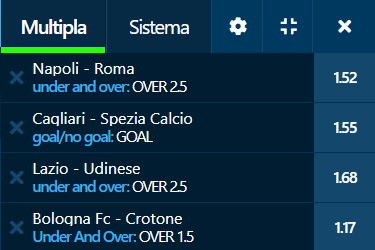 scommesse pronte Serie a 2020-11-29