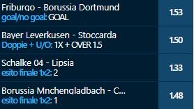 scommesse pronte Bundesliga 2021-02-06