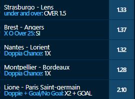 scommesse pronte Ligue 1 2021-03-21