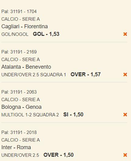 scommesse pronte Serie a 2021-05-12