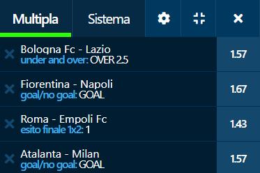 scommesse pronte Serie a 2021-10-02